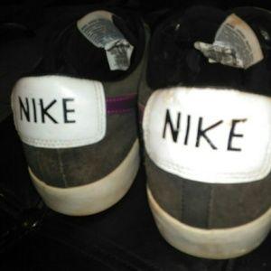 Nike Shoes - Nike SB Blazer low tops purple swoosh